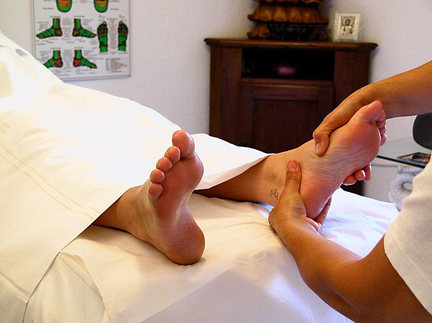 Lymfodrenáž nohou